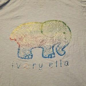 Ivory Ella Hooded T-shirt